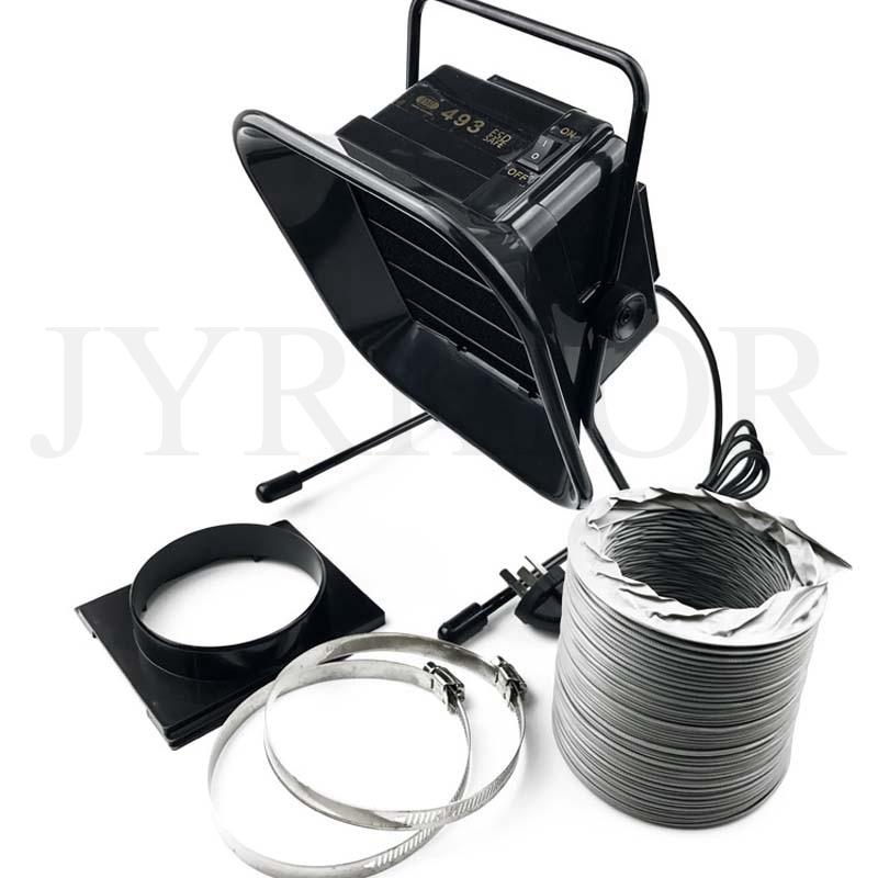 Купить с кэшбэком Smoking Instrument Soldering Iron Welding Exhaust Fan Smoke Absorber For Laboratory Home Smoking Filtering Purifying Device