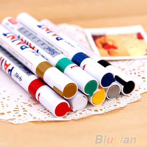 Image 4 - 12 Colors Waterproof Car Tyre Tire Tread Rubber Metal Permanent Paint Marker Pen