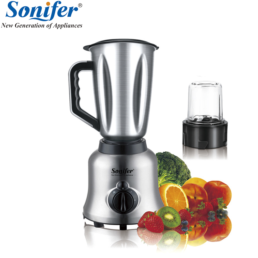 Multifunction electric food blender mixer kitchen glass stainless steel standing blender vegetable Meat Grinder Sonifer hand blender haier hhb 111 electric blender mixer grinder for kitchen handheld stainless steel 12 speed