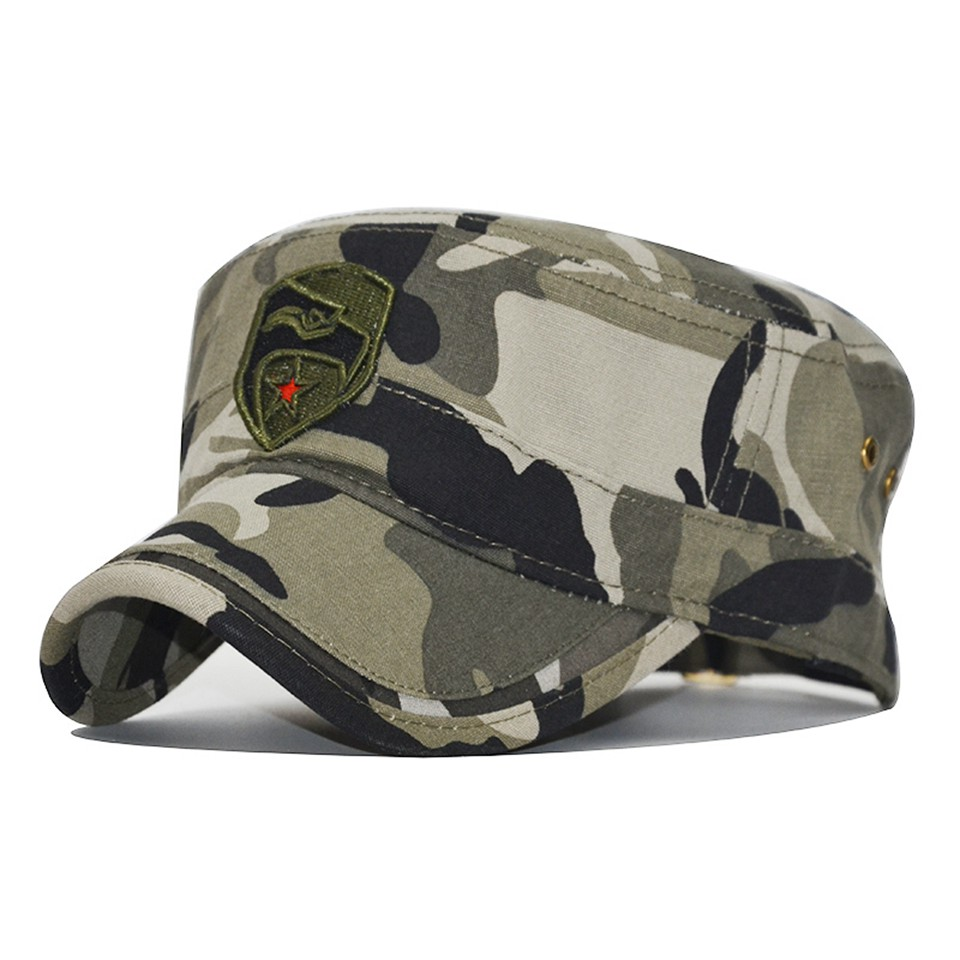 f62fa6ff2 2019 High-quality Men Navy Seal Cap Snapback eagle Flat caps camouflage  Hunting Fishing for Dad uncle Hat Bone Camo Outdoor Caps