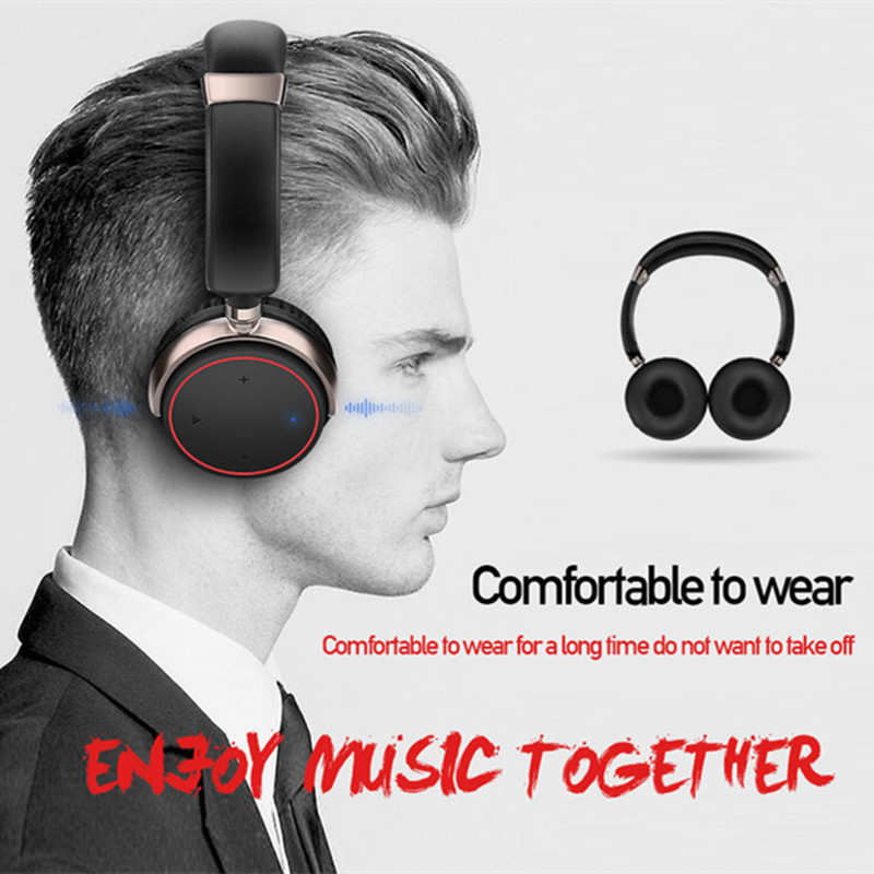 Wireless Bluetooth Headphones ihens5 B2 Portable Subwoofer Stereo HIFI Music Headset Handsfree with Mic for Phones MP3 Computer wireless bluetooth speaker led audio portable mini subwoofer