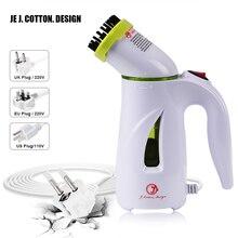 Портативный отпариватель для одежды вертикальный паровой утюг гладильная с щеткой ручной ткани отпариватели чистая машина EU US UK Plug