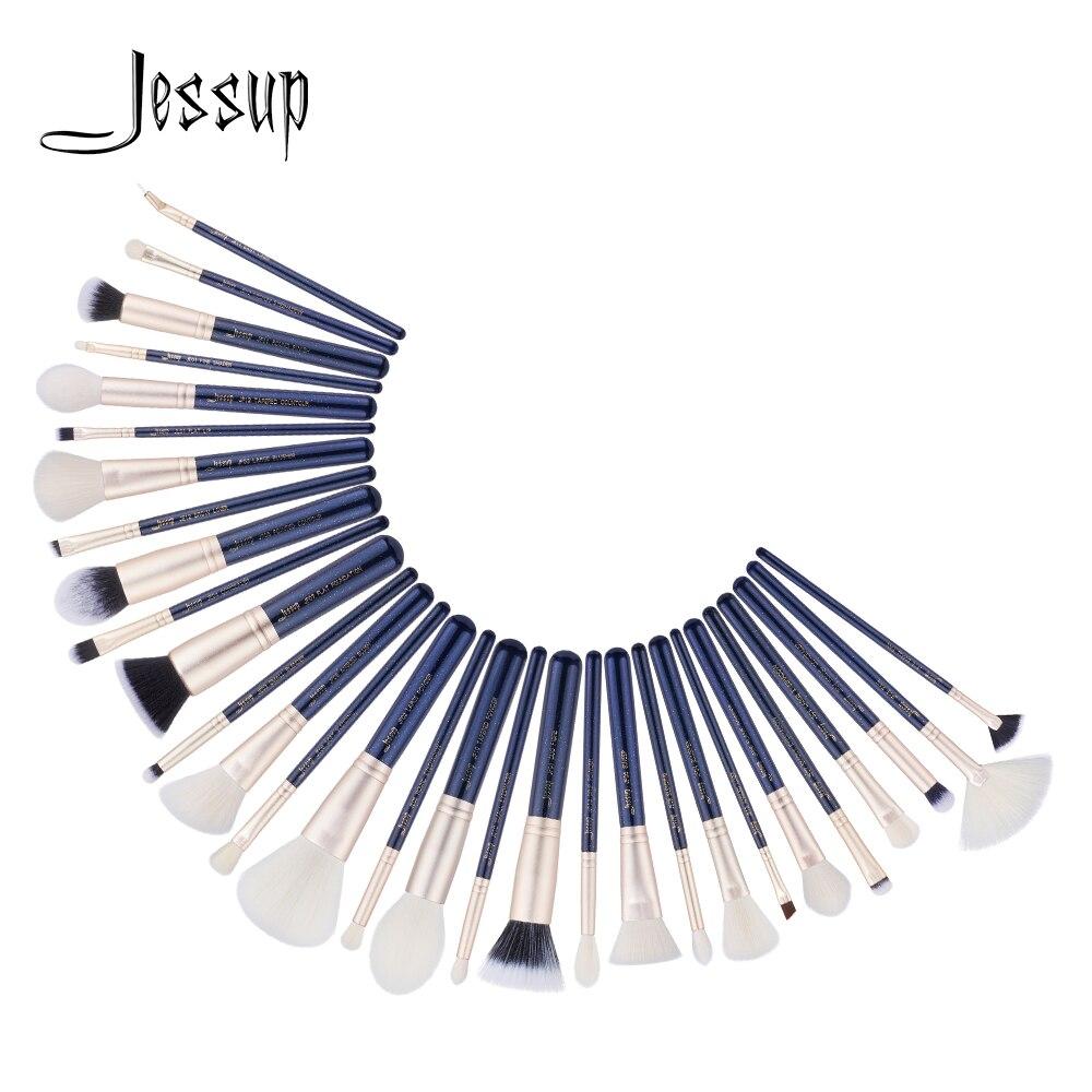 Jessup brushes 30pcs Makeup Brushes Set maquiagem profissional completa Powder Eyeshadow Concealer Blending Brushes T470