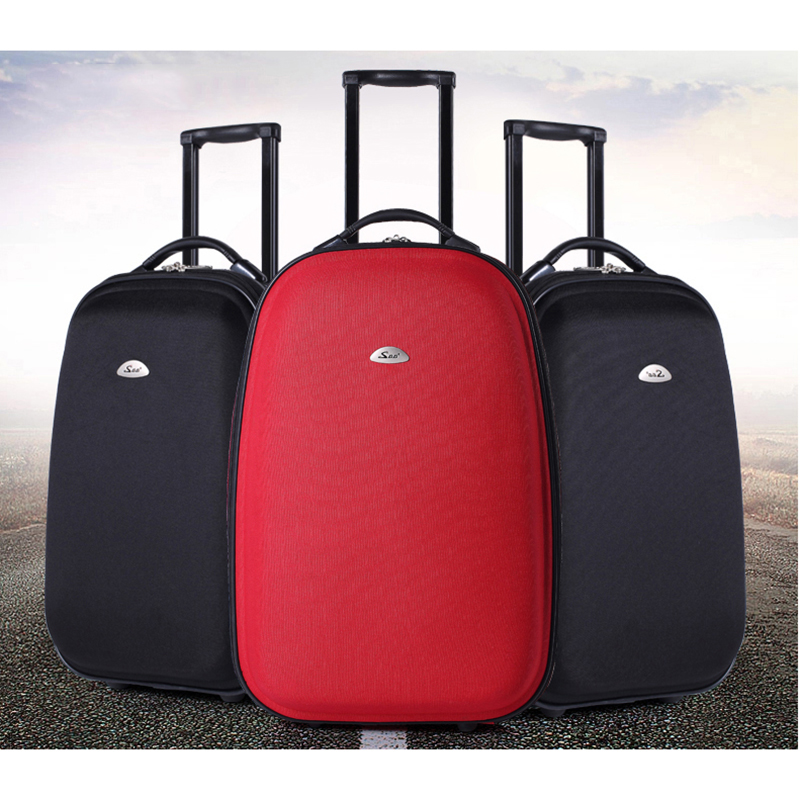 BeaSumore Fashion Spinner Rolling Luggage 20 Inch Travel Bag Carry On Women Password Trunk Men Suitcases Wheel Trolley