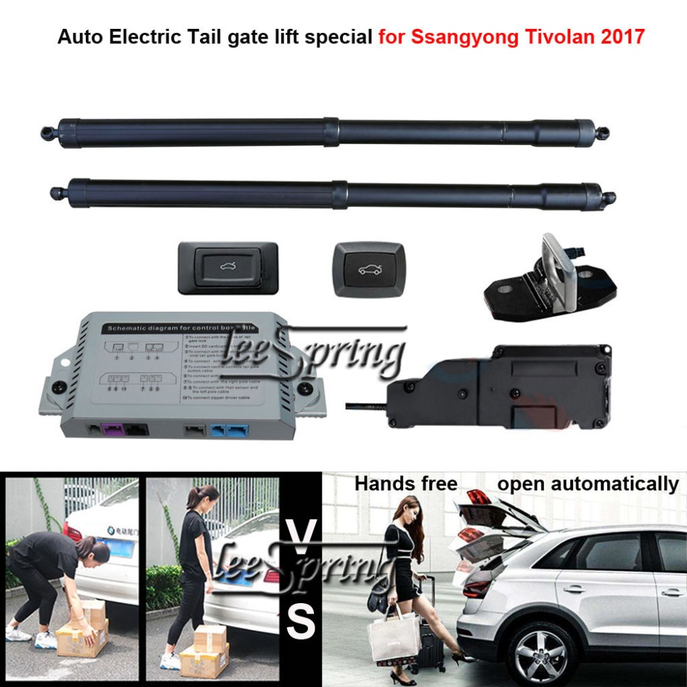 Car Electric Tail Gate Lift Special For Ssangyong Tivolan 2017 Easily For You To Control Trunk