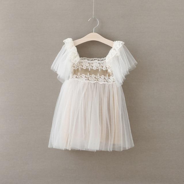 eefbda11d1fe8e  Aamina  Infant kant mesh baby meisjes jurk verjaardag groothandel  kinderkleding 5 stks veel kids