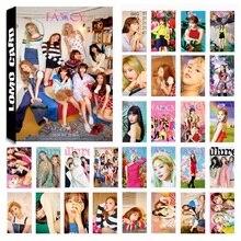 30Pcs/Pack KPOP TWICE Girls 08 Fancy Album HD Photo Card PVC Cards Self Made LOM