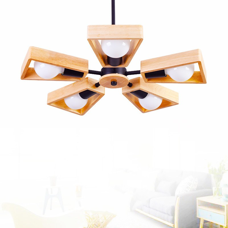 Northern Europe Concise Creative Wood Pendant Lamp Cafe Restaurant Bedroom Livingroom Office Study Decoration Lamp Free Shipping northern europe concise macarons color 3 heads pendant light cafe restaurant bedroom livingroom decoration lamp free shipping