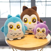 Plush Soft Owl Toy Pillow Stuffed Animal Plump Owl Toy For Children's Day Gift Or Bedroom Decoration Bed Toy 22/30/40 Cm стоимость