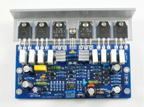 Douk Audio L25 Pre-AMP Post-amplifier assembled board dual 2.0 channel 250W 8R 2SA1186 цена