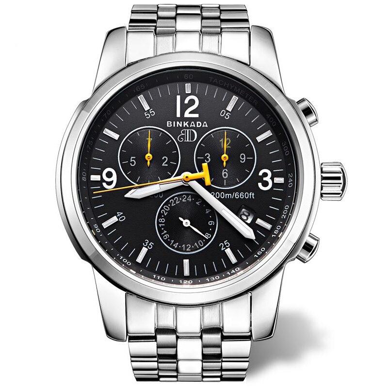 Reloj mecánico automático de los hombres de negocios informal 2018 - Relojes para hombres - foto 1