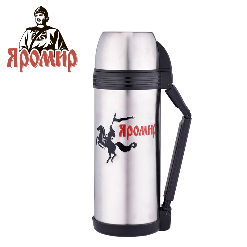 YAROMIR YAR-2004M Thermose 1800ml Vacuum Flask Thermose Travel Sports Climb Thermal Pot Insulated Vacuum Bottle Stainless Steel yaromir yar 2003m thermose 1000ml vacuum flask thermose travel sports climb thermal pot insulated vacuum bottle stainless steel