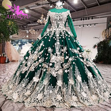 AIJINGYU Wedding Gowns Long Dresses Maternity 2021 2020 Cheap Beautiful Quality Plus Size Gown For Bride Moroccan Wedding Dress