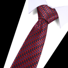 Striped Tie New Fashion Luxury Silk Ties for Men long High Quality Cravatas 7.5 CM Wide Male Neck