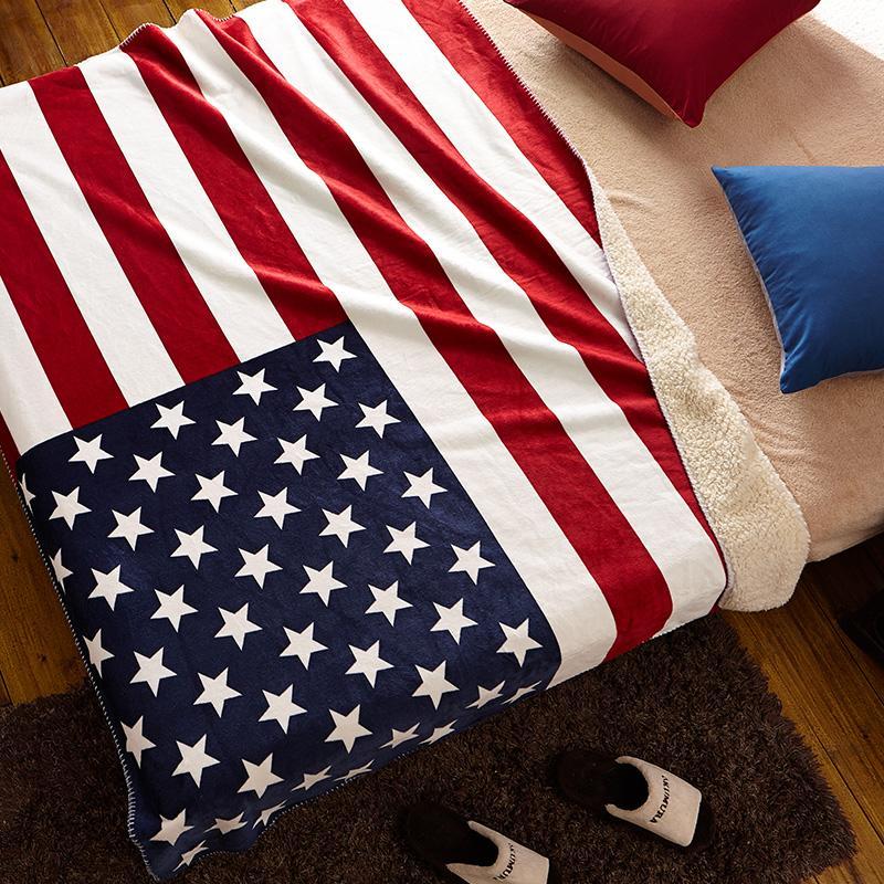 Deken Amerikaanse Vlag.Pmk Amerikaanse Vlag Engeland Vlag Deken Plaid Sofa Covers