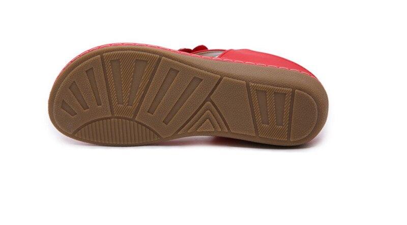 New 2019 ethnic women`s sandals cross-border bohemian rhinestones large size comfortable flat shoes beach shoes (34)