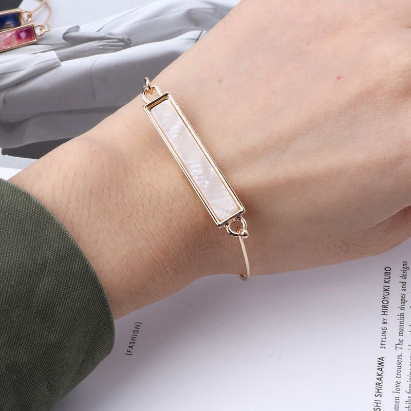 JAVRICK Acrylic Leopard Print Tortoiseshell Brown Bracelet For Women Fashion Jewelry in Charm Bracelets from Jewelry Accessories