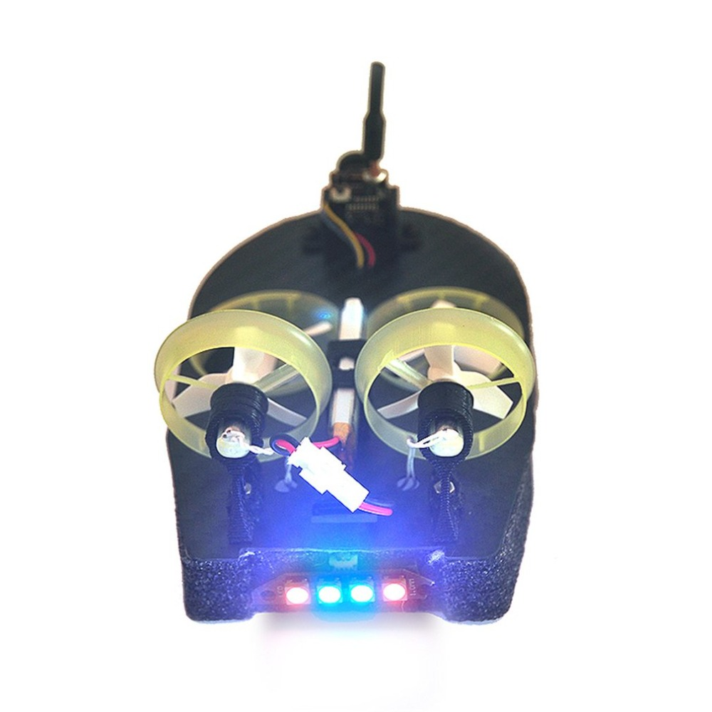 Tiny Whoover TW67 Mini FPV Racing Hovercraft Boat Drift Car Model with Integrated DSMX Receiver OSD LED DIY Racer