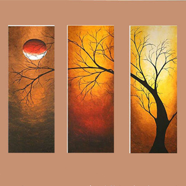 How To Paint An Oak Tree Acrylic Paint