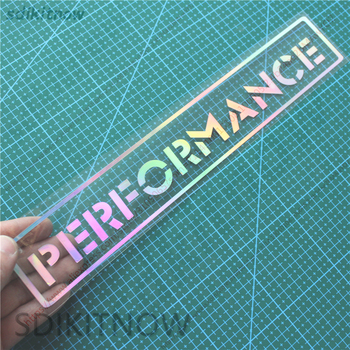 New Performance Reflective Car Decal Sticker Styling Window Door decoration For BMW M3 M5 X1 X3 X5 X6 E36 E39 E46 E30 E60 E92 image