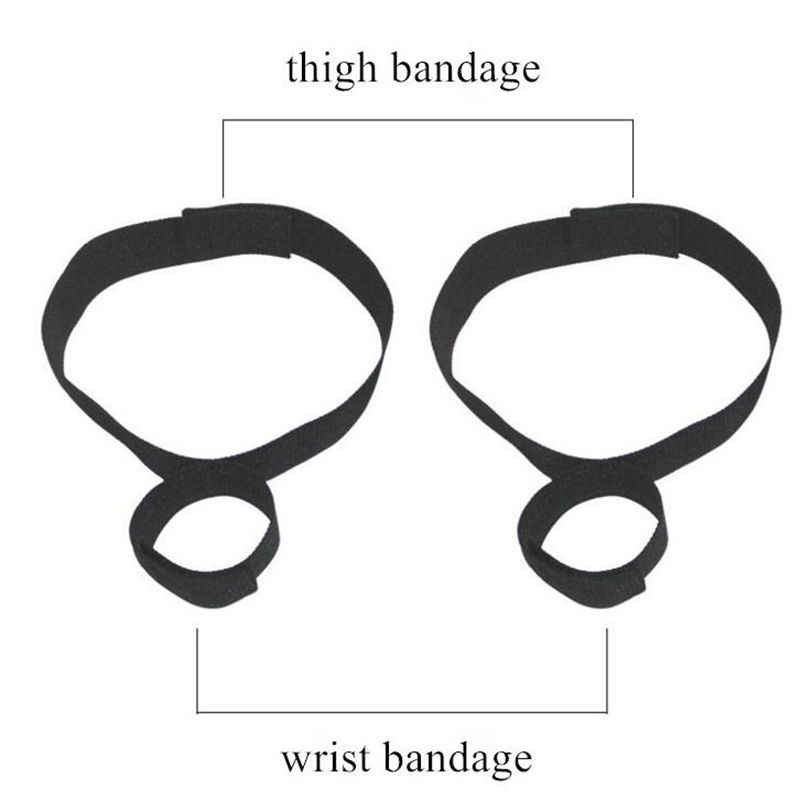 Sex Handcuffs Ankle Cuffs BDSM Bondage Slave Restraint Sex Toys Games For Woman Adults Sex Products Erotic Costumes Accessories
