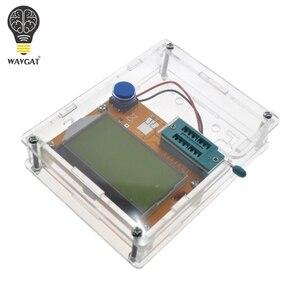 Image 2 - Boîte de LCR T4 WAVGAT boîtier de boîtier de LCR T3 en acrylique transparent pour testeur de Transistor LCR T4 ESR SCR/MOS LCR T4