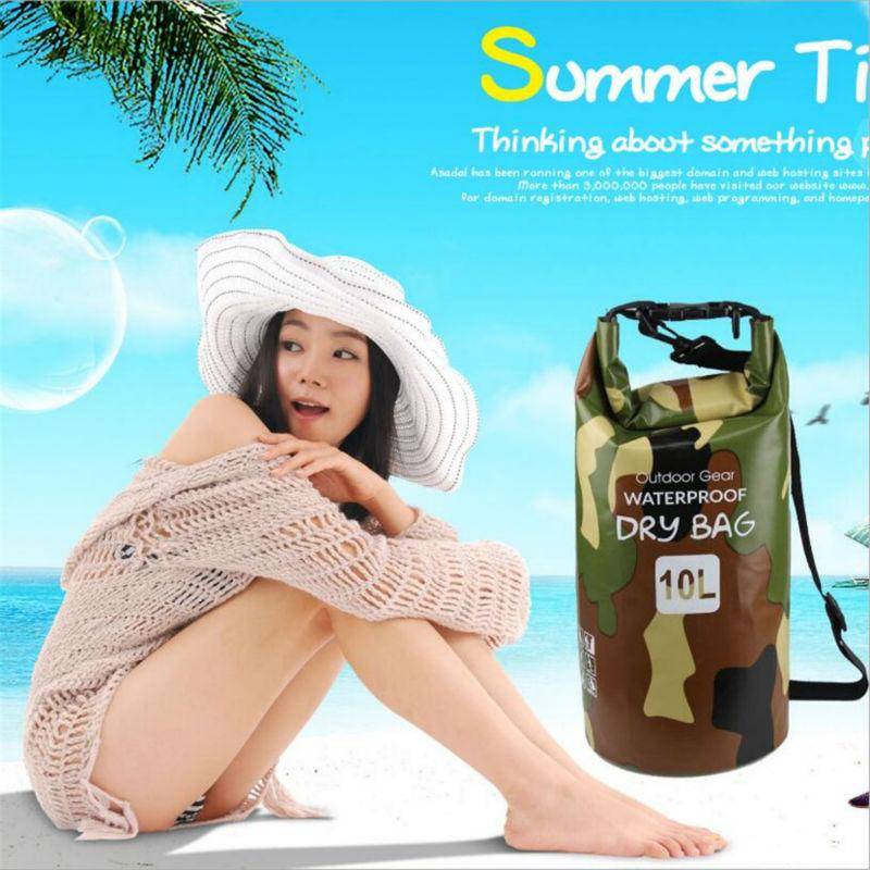 Quality 500D PVC Waterproof Dry Sack Storage Bag Rafting Sports Kayaking Canoeing Swimming Bag Travel Kits 2L 5L 15L 25L