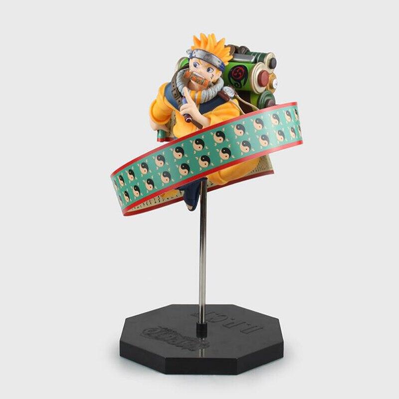 Naruto Shippuden anime figures Uzumaki Naruto Action model figure toys PVC sharingan collection 26cm with box Gift anime naruto shippuden haruno sakura reviving sharingan pvc action figure collection model kids toys doll 25cm