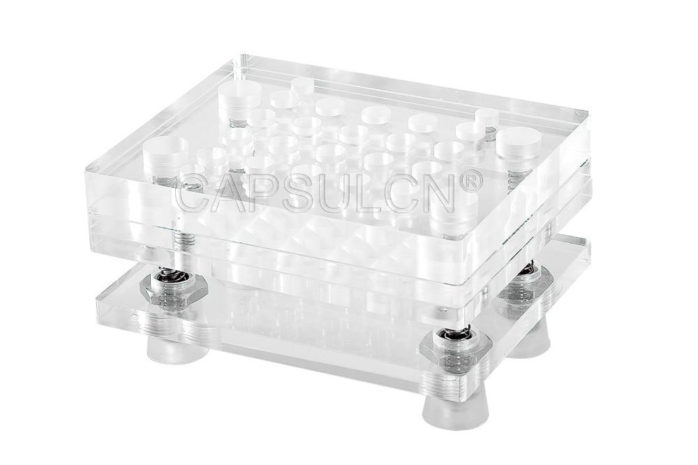 20 holes Size 3 Manual capsule filler CN 20 Capsule Filling Machine Encapsulating Machines Fillable