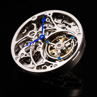 High End Men Mechanical Watches Original Tourbillon Hollow Movement