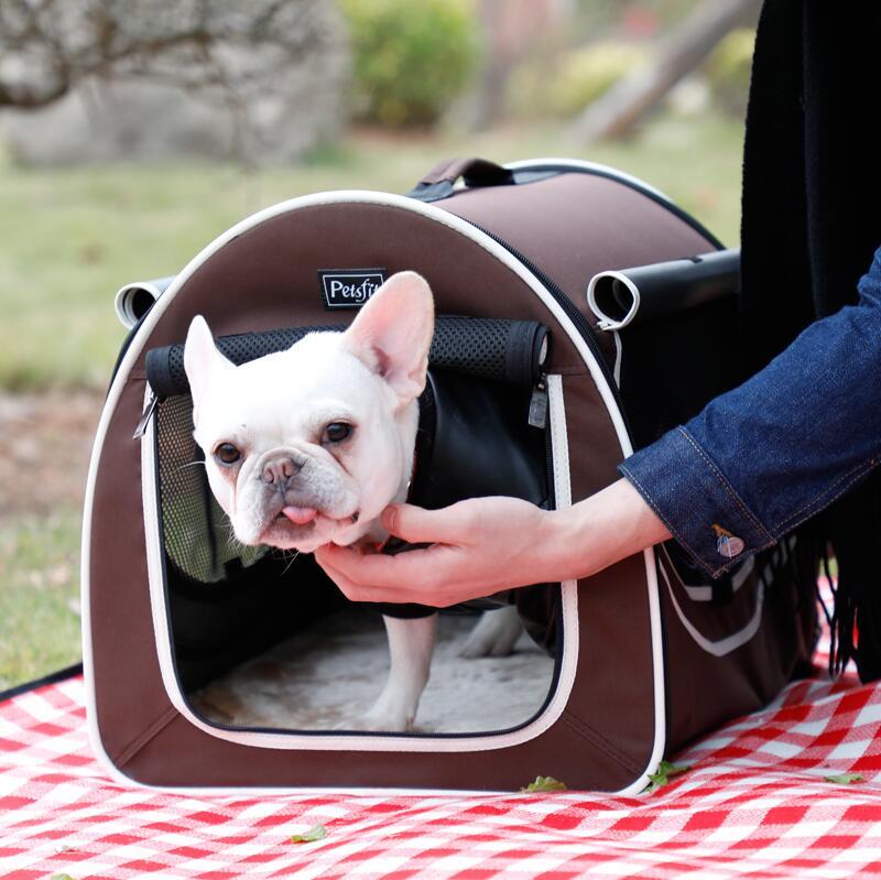New Pet Dog Carrier Bag Size S/L Cat Portable Travel Carrier Tote Bag Handbag Crate