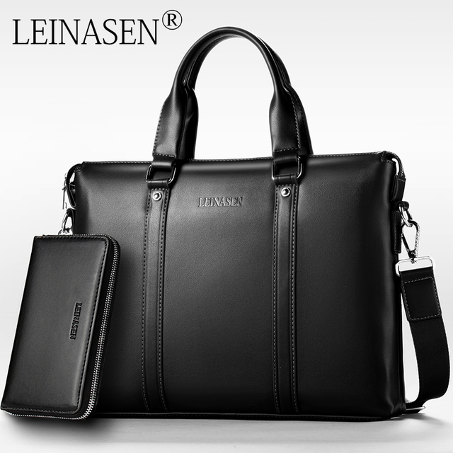 leinasen marque porte documents en cuir sac a main hommes sacs bureau hommes messenger sacs