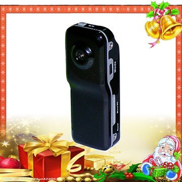 Latest ! Mini Sport Video DVR Comcorder with 2M pixel, 80 View Angle , 260mAH  Free Shipping(DVR-088)