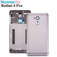 Vecmnoday For Xiaomi Redmi 4 Pro Redmi4 Pro Rear Battery Housing Door Shell Original New Back