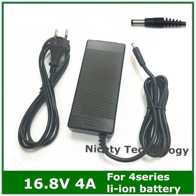 16.8V4A 16.8V 4A 리튬 이온 배터리 충전기 4 시리즈 14.4V 14.8V 리튬 이온 폴리머 batterry 팩 좋은 품질