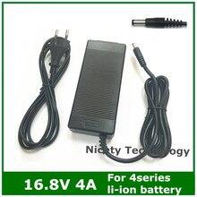 16.8V4A 16.8V 4A ładowarka litowo jonowa do 4 serii 14.4V 14.8V akumulator litowo polimerowy batterry pack dobra jakość