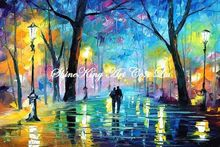 palette knife oil painting  modern oil painting canvas oil painting K320