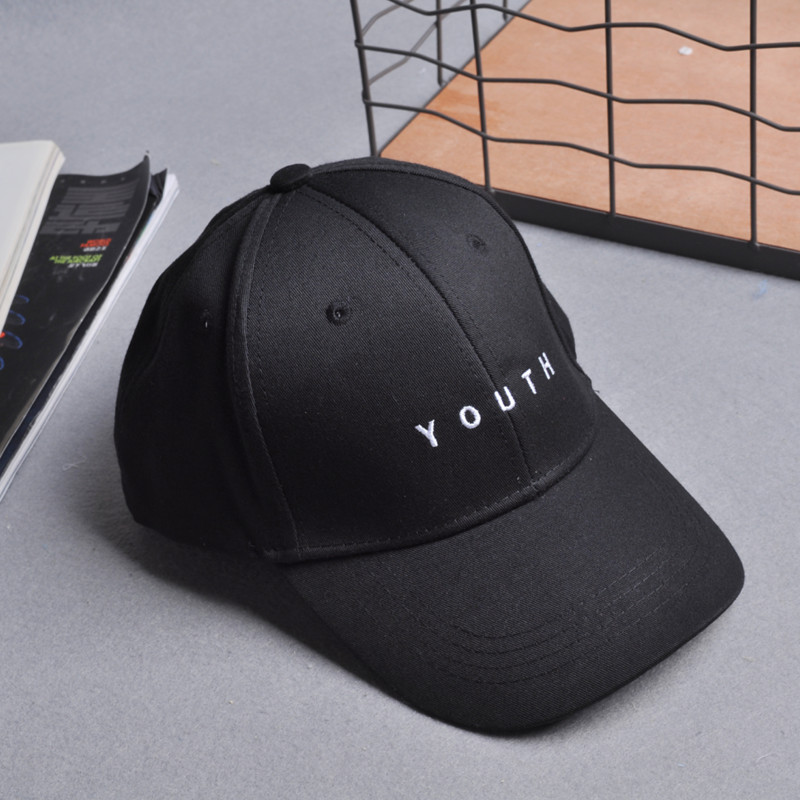 2017 Summer Baseball Cap Fashion Hip Pop Caps Youth Letter Snapback Cap Men Women Spring Cotton Black Baseball Caps hats Female fashion cap women men summer spring cotton caps women solid adult baseball cap black white hat snapback women cap 2017