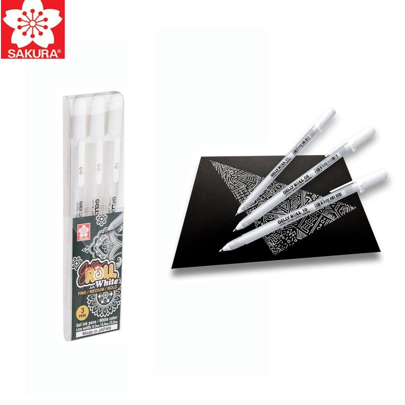 Sakura Gelly Roll Classic Highlight Pen Gel Ink Pens Bright White Pen Highlight Markers Color Highlighting highlight fan meeting bangkok