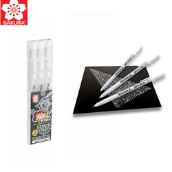 Sakura Gelly Roll Classic Highlight Pen Gel Ink Pens Bright White Pen Highlight Markers Color Highlighting
