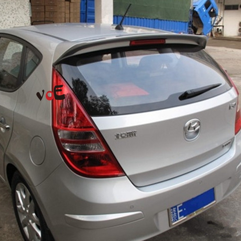 2009 2010 2011 2012 2013 2014 2015 I30 ABS Plast Bunk Trong Wing Spoiler for Hyundai I30