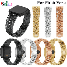 New Alloy Crystal Bracelet For Fitbit Versa Band Wrist Strap Smart Accessories Sport fashion strap Replacement