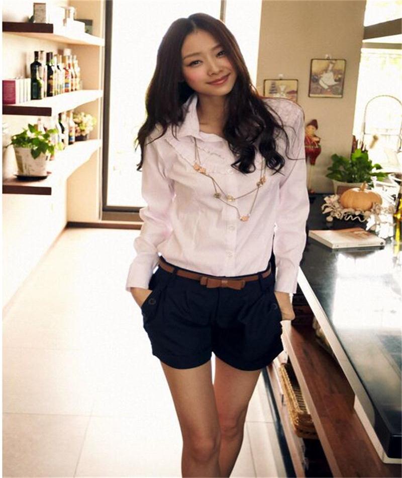 2019 New Arrival Summer New Fashion Korean Women Short Casual Twill Korean Oversize Shorts Without Belt S-Xxxl