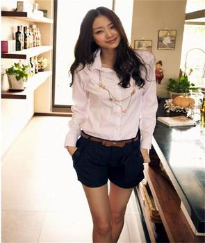 2016 New arrival Summer Fashion Korean Women Short Casual Twill Oversize Shorts Without Belt S-XXXL