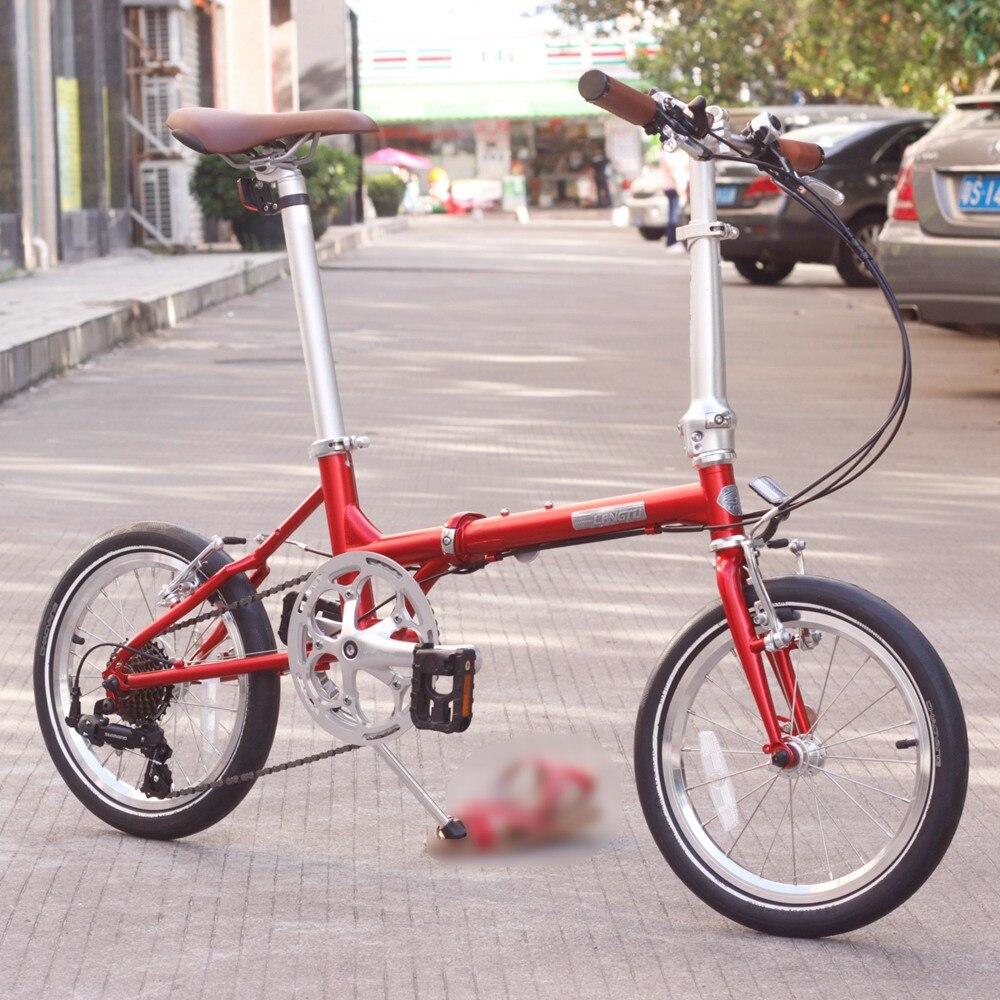 все цены на Langtu CR-MO Steel Folding Bike 16