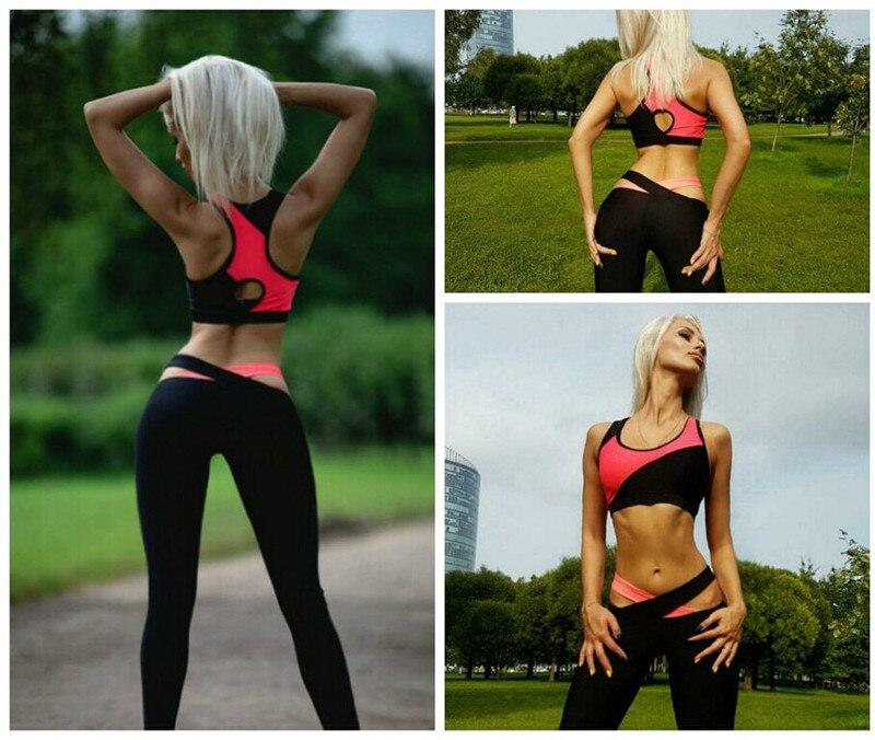 Tracksuits 2 Piece Set Women Sporting Suit Ladies Casual Ladies Brand New Clothing Sportwear Crop Tops