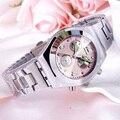 Longbo reloj 2017 reloj de cuarzo mujeres de las señoras relojes de pulsera famosa marca de lujo relogio feminino reloj mujer montre femme