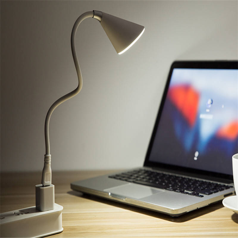 Adjustable Flexible Lamp Desk for Reading Studying Table Lamp Eye Protect Music Book Light USB Touch Sensor Brightness