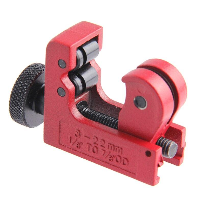 Zangen Herzhaft 3-22mm Mini Rohr Cutter 1/8-7/8 Für Schneiden Kupfer Messing Pvc Kunststoff Aluminium Rohr Schneiden Werkzeuge Handwerkzeuge