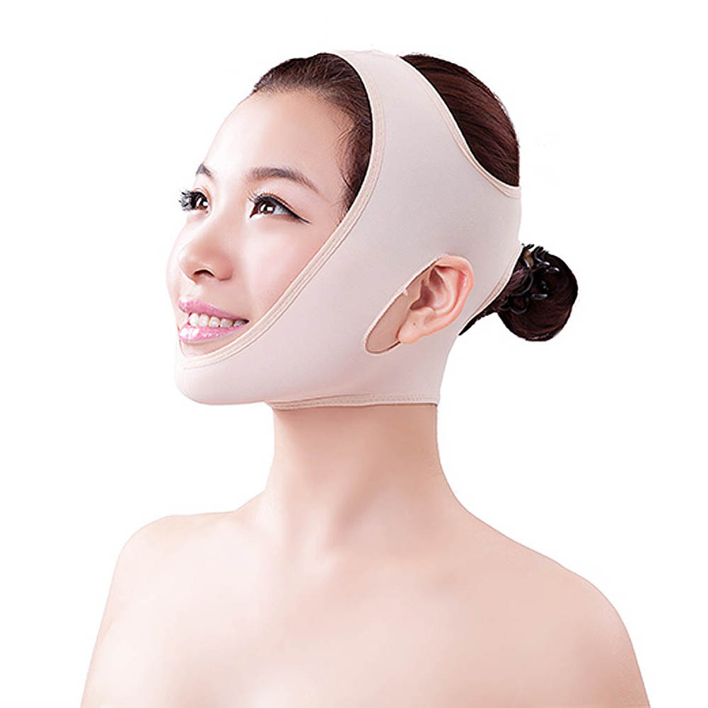 Wrinkle V Face Chin Cheek Lift Belt Mask Bandage Ultra-thin Strap Slim Patches